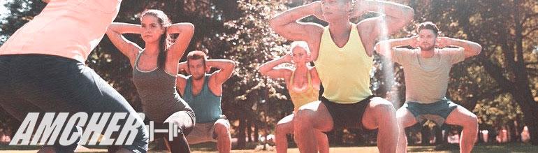 Trening na świeżym powietrzu