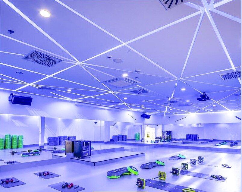 Sala do zajęć fitness w Cityfit Sadyba Best Mall - grafik dostępny jest na stronie internetowej w odpowiedniej zakładce