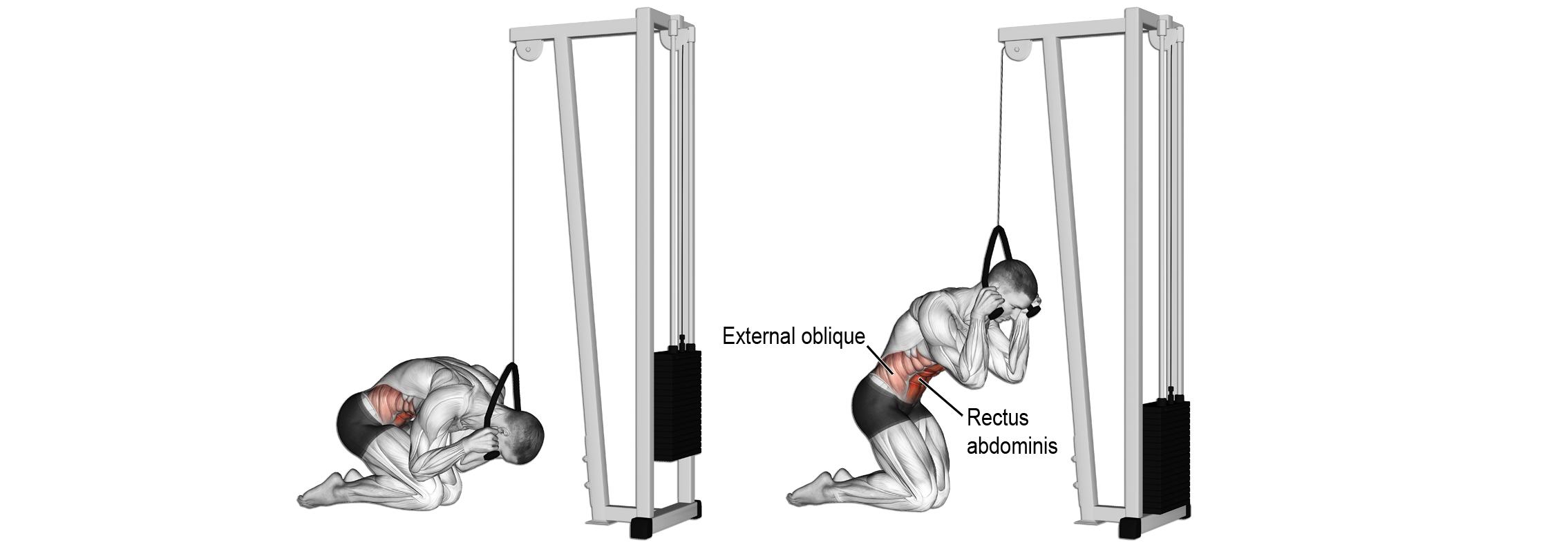 allachy - trening brzucha