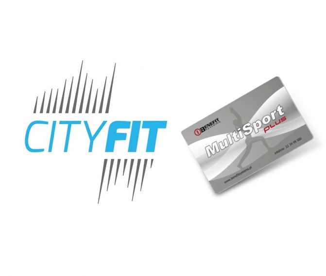 Cityfit akceptuje karty multisport