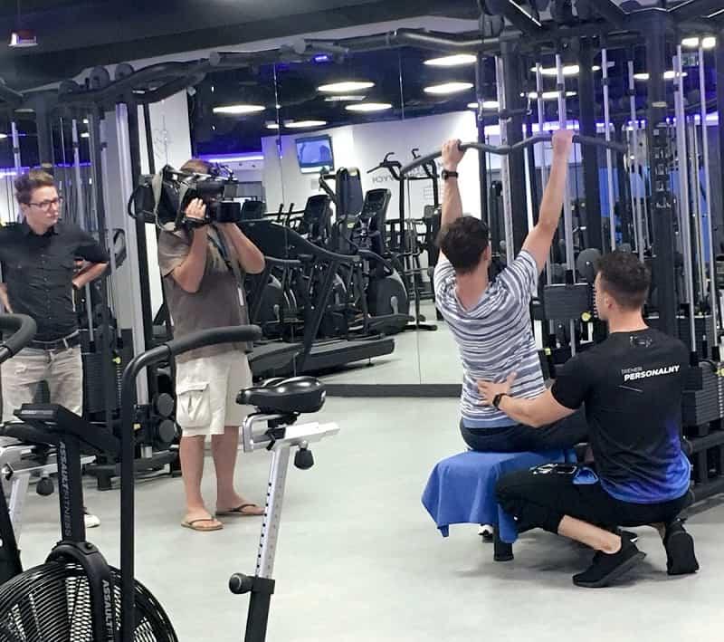 ćwiczenia z trenerem personalnym są efektywne i bezpieczne